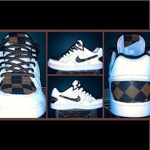 """🔥Custom made Nike/Louis Vuitton """"Son of Forces""""🔥"""